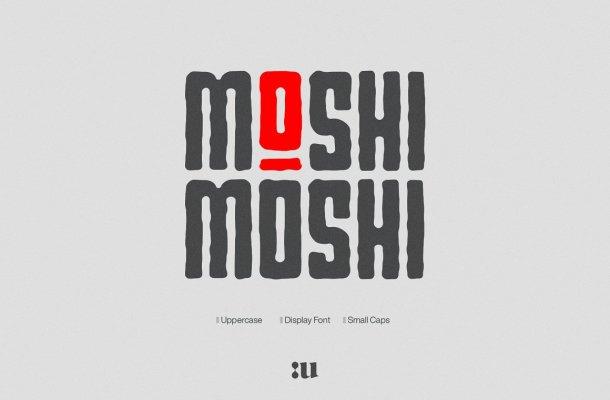 Small Moshi Moshi Font