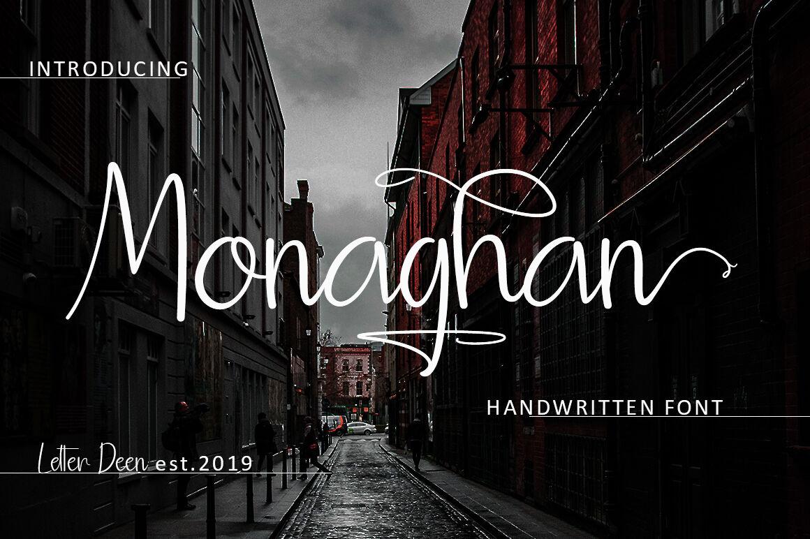 Monaghan-Font