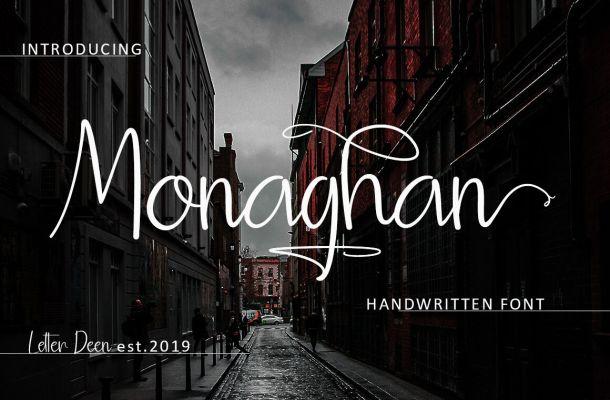 Monaghan Handwritten Font