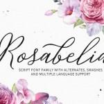 Rosabelia Script Font