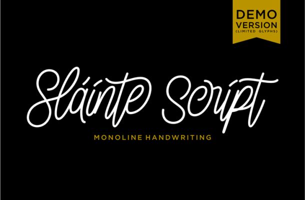 Slainte Script Font
