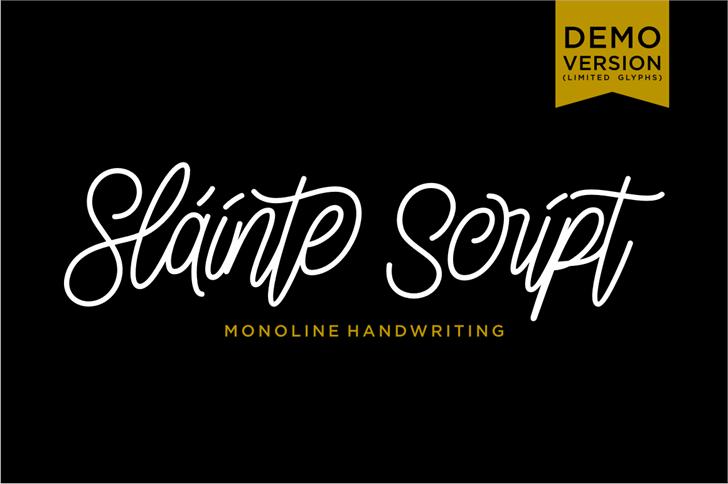 slainte-script-font