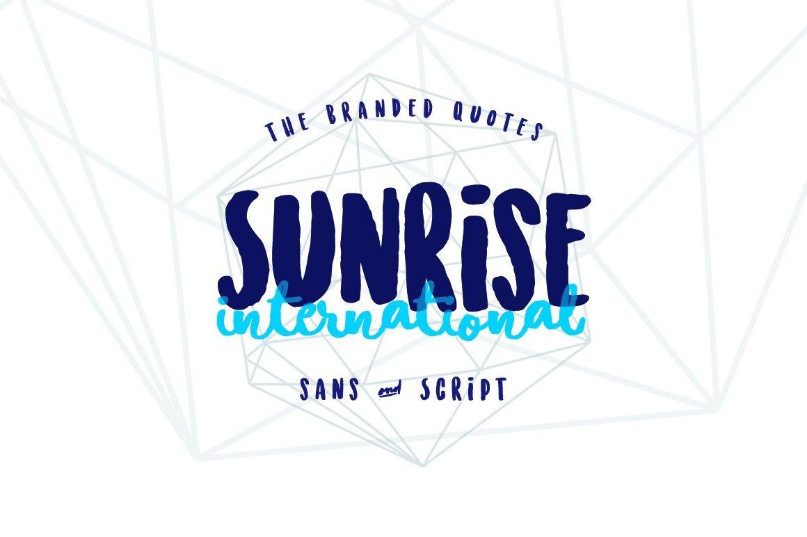 Sunrise-International-Font