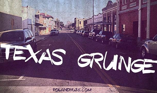 Texas Grunge font