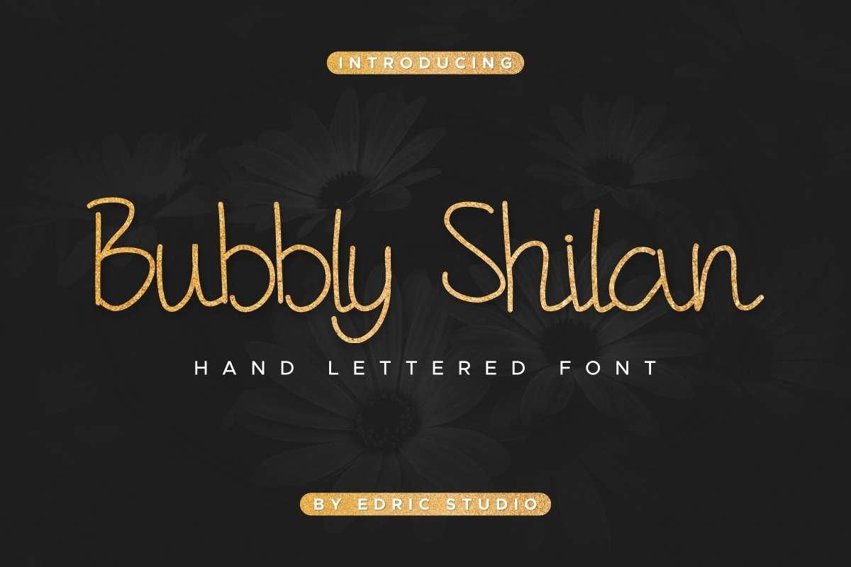 Bubbly-Shilan-Font-2
