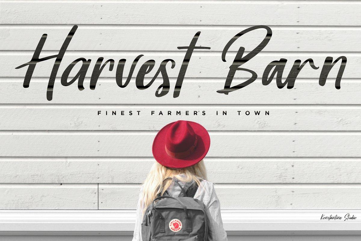 Harvest-Barn-Font