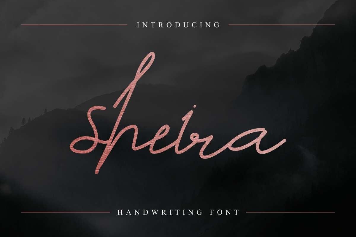 Sheira-Font