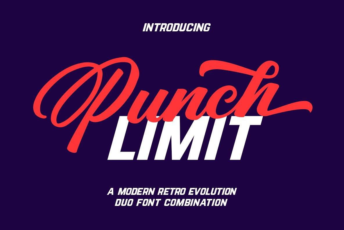 Punch-Limit-Font