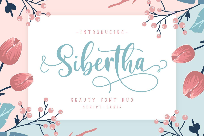 Sibertha-Font