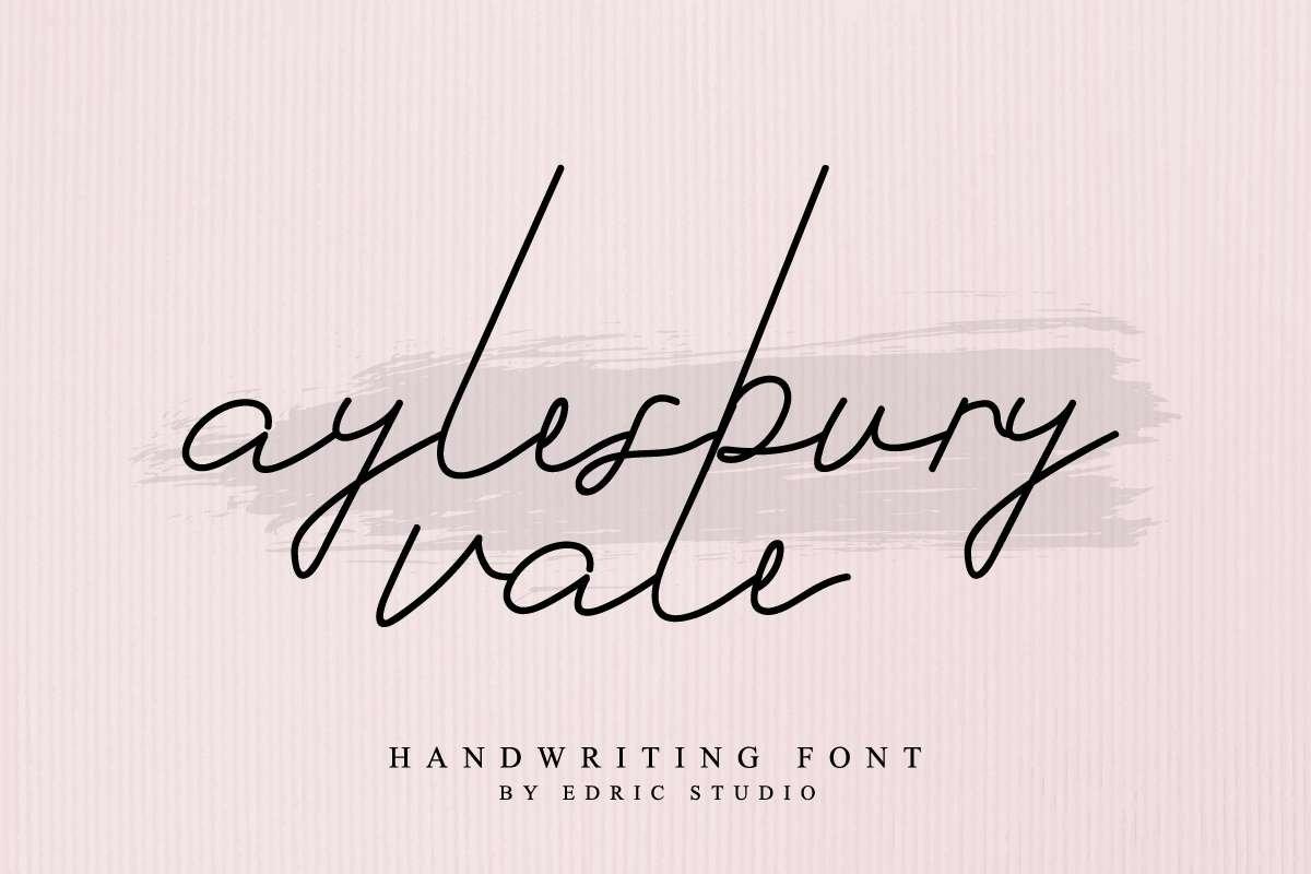 Aylesbury-Vale-Font-2