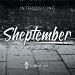 Sheptember Script Font