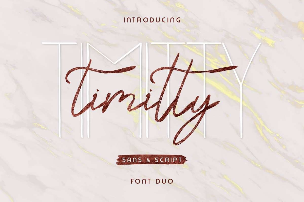 Timitty-Font