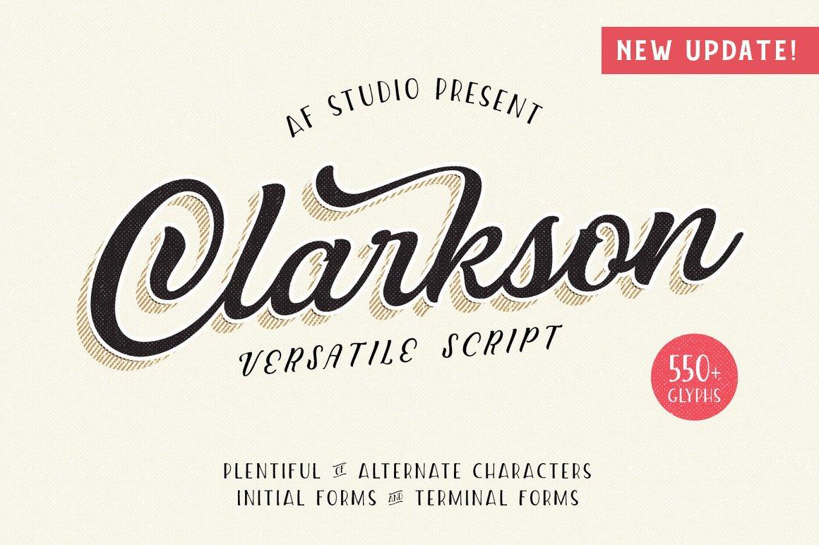Clarkson-Font