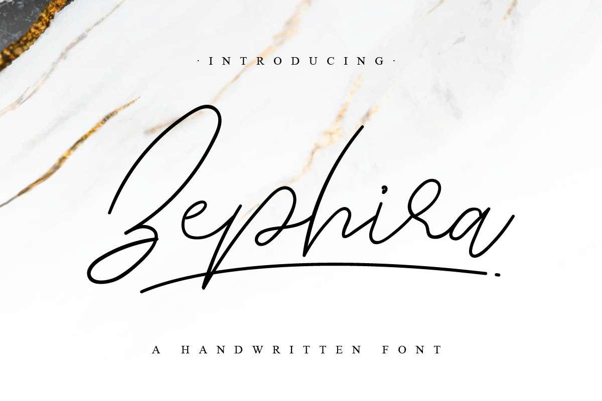 Zephira-Font