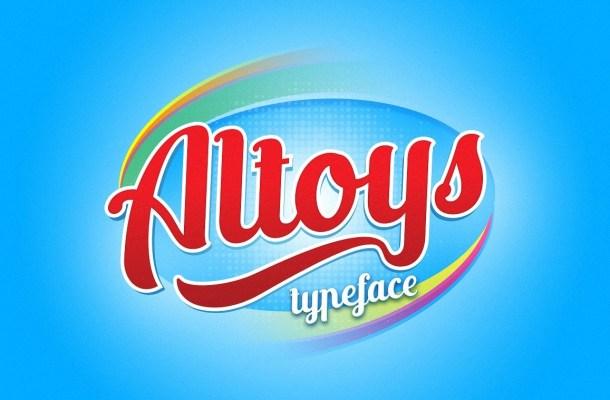 Altoys Script Font