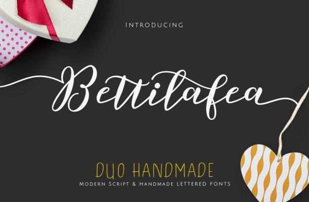 Bettilafea Script Font