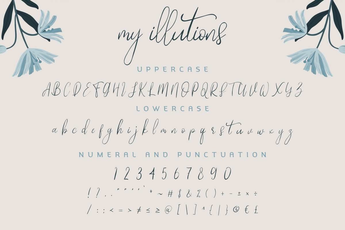 My-Illutions-Font-3