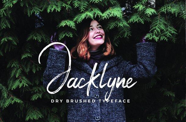 Jacklyne Brush Font