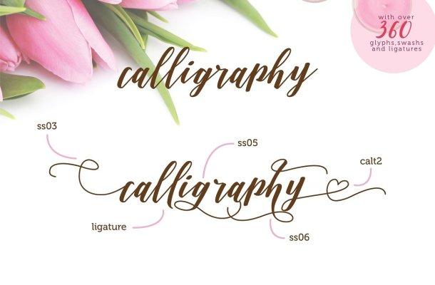 Daniesha Script Font