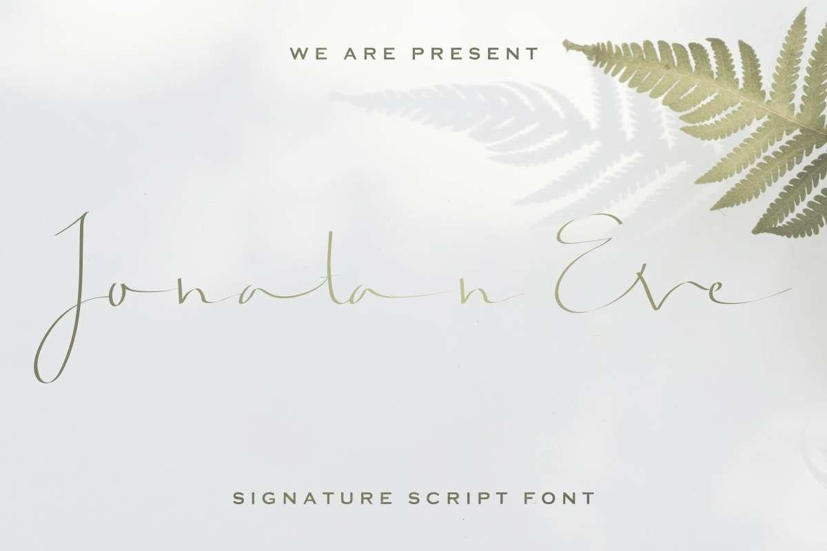 Jonatan-Eve-Font