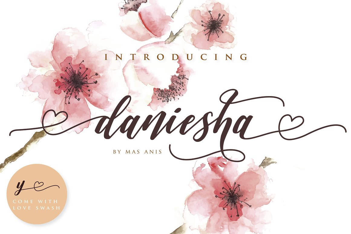 Daniesha-Font
