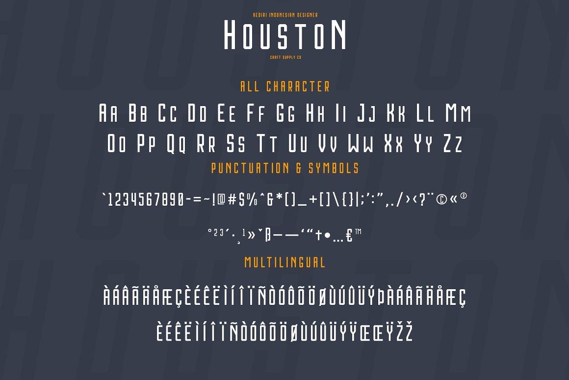 Houston-Font-3