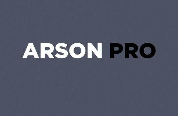 Arson Pro Font Family