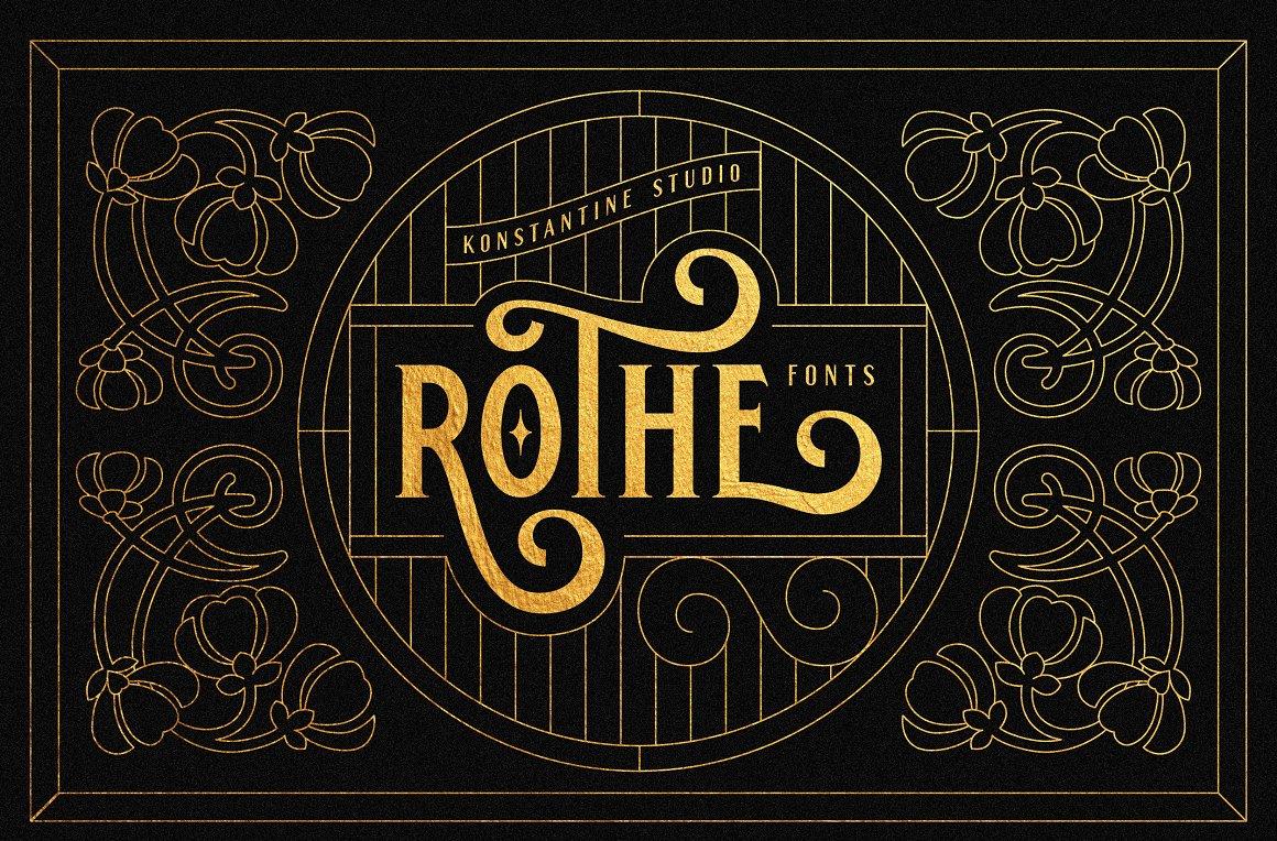 ROTHE-Font