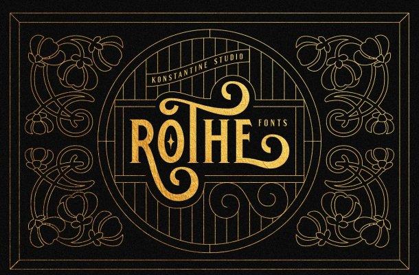ROTHE Vintage Font
