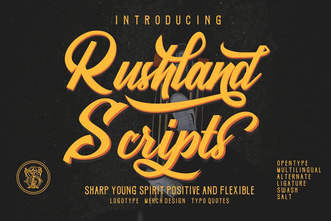 Rushland-Sporty-Font