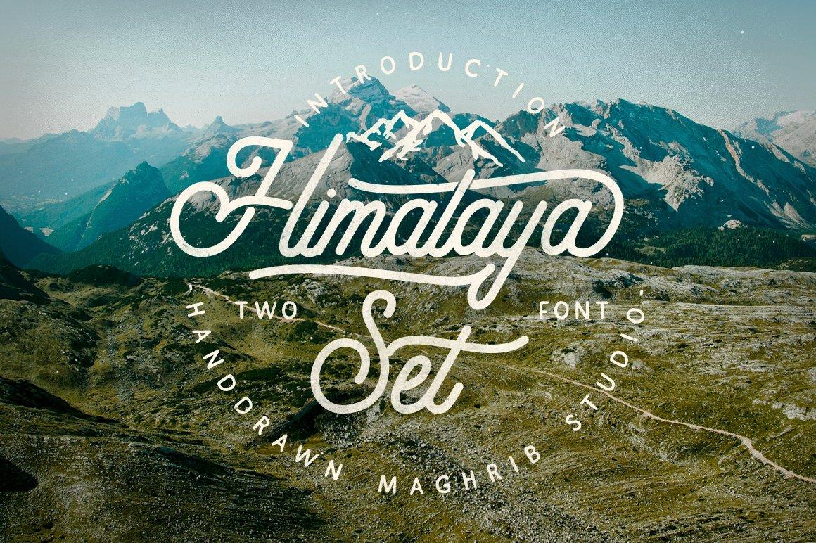 Himalaya-Set-Font
