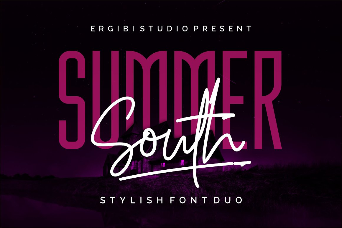 Summer-South-Duo-Font