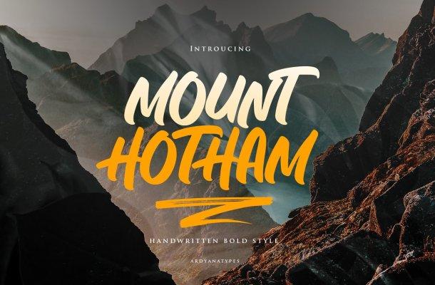 Hotham Script Font