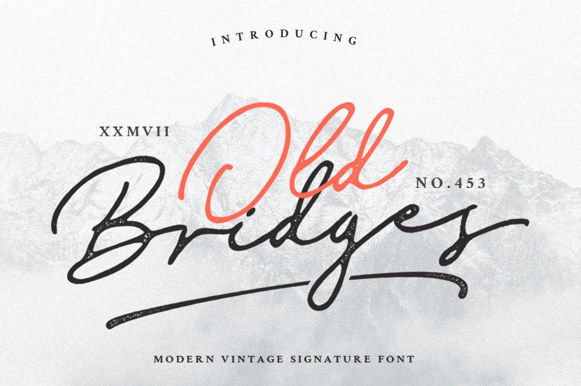 Old-Bridges-Font