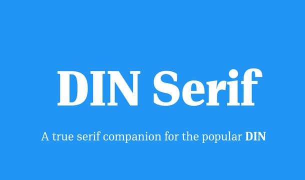 PF DIN Serif Font Family