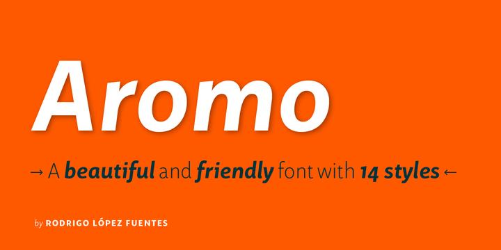 Aromo-Font