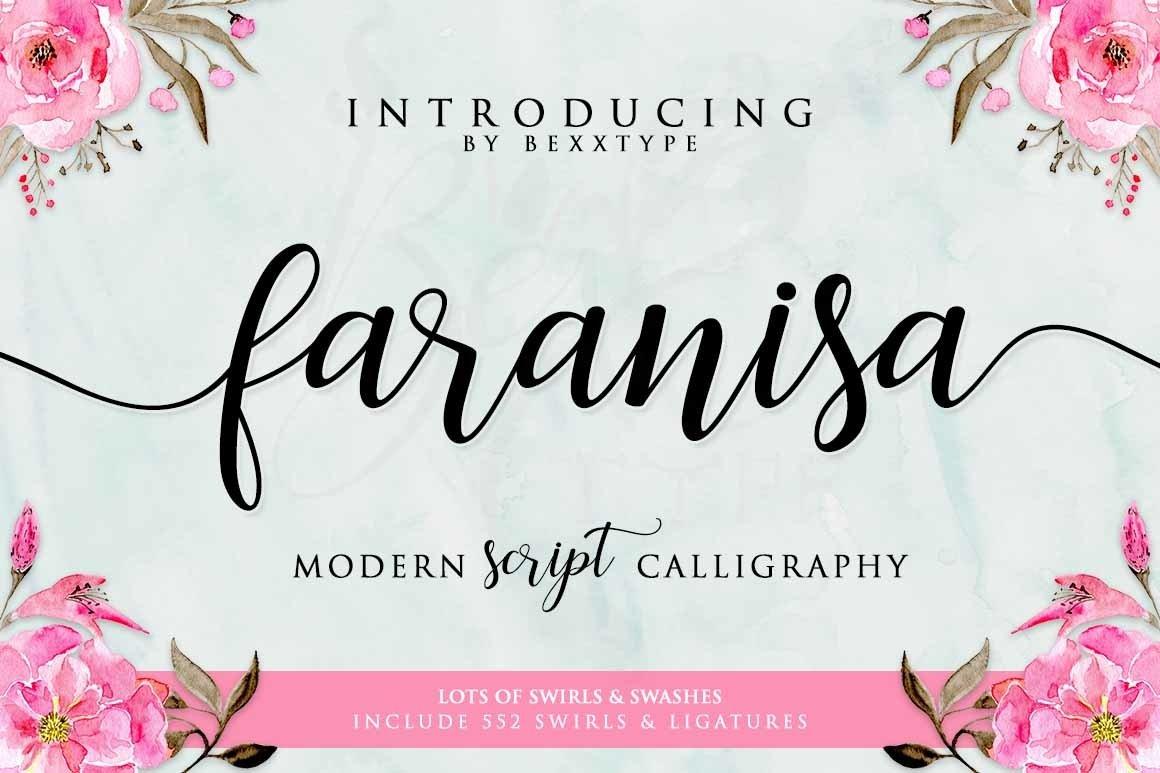 Faranisa-Font