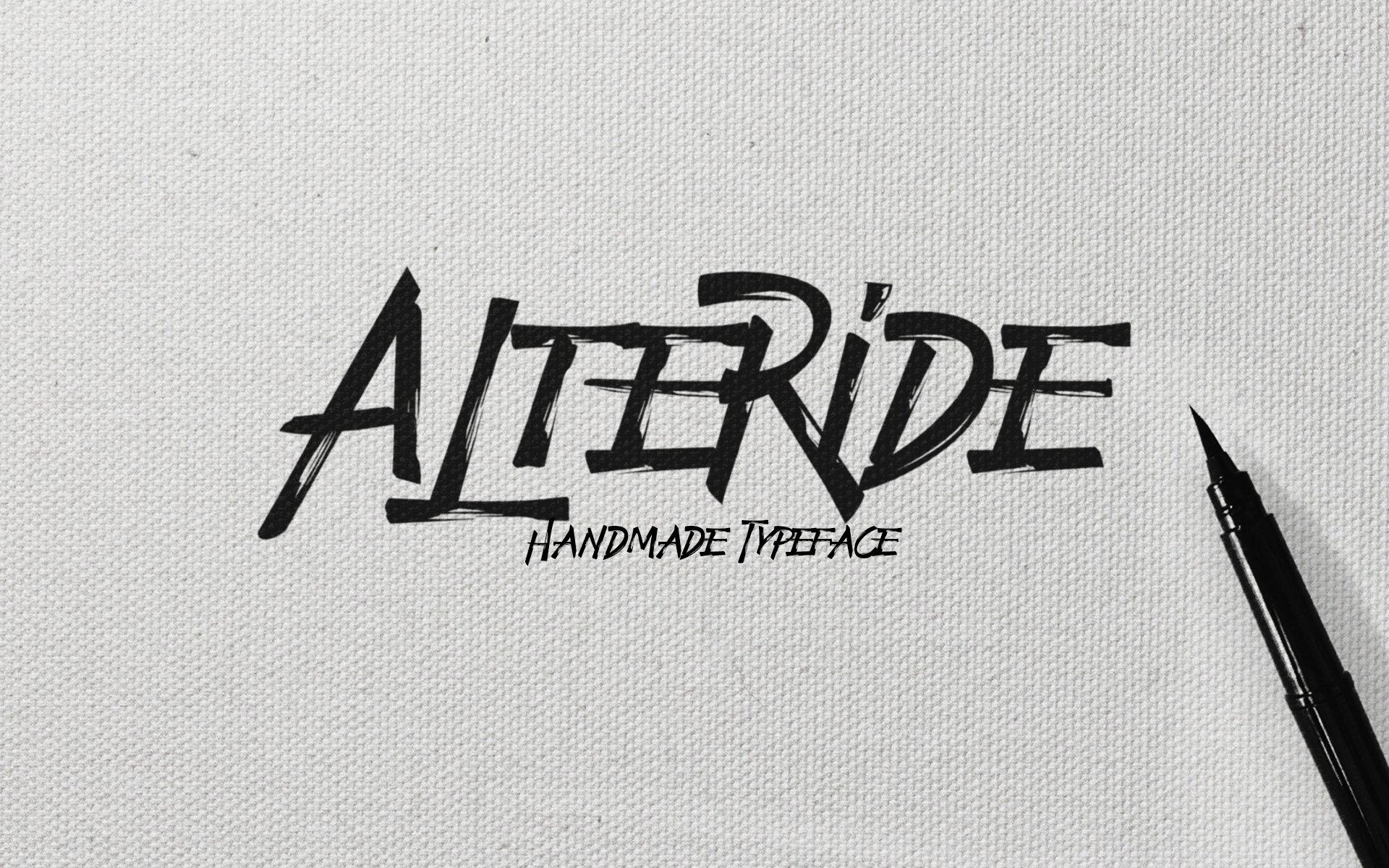 Alteride-Font