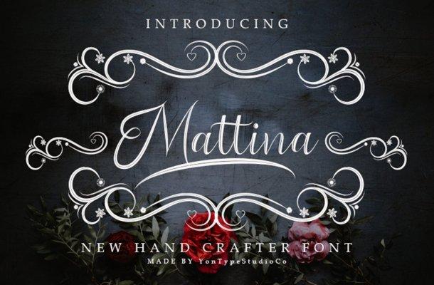Mattina Script Font