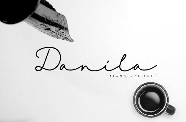 Danila Script Font