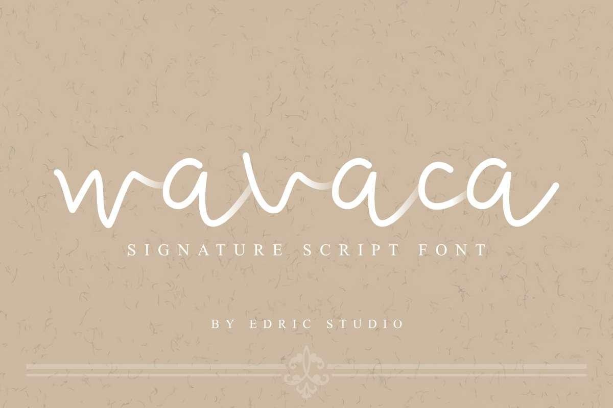 Wavaca-Font