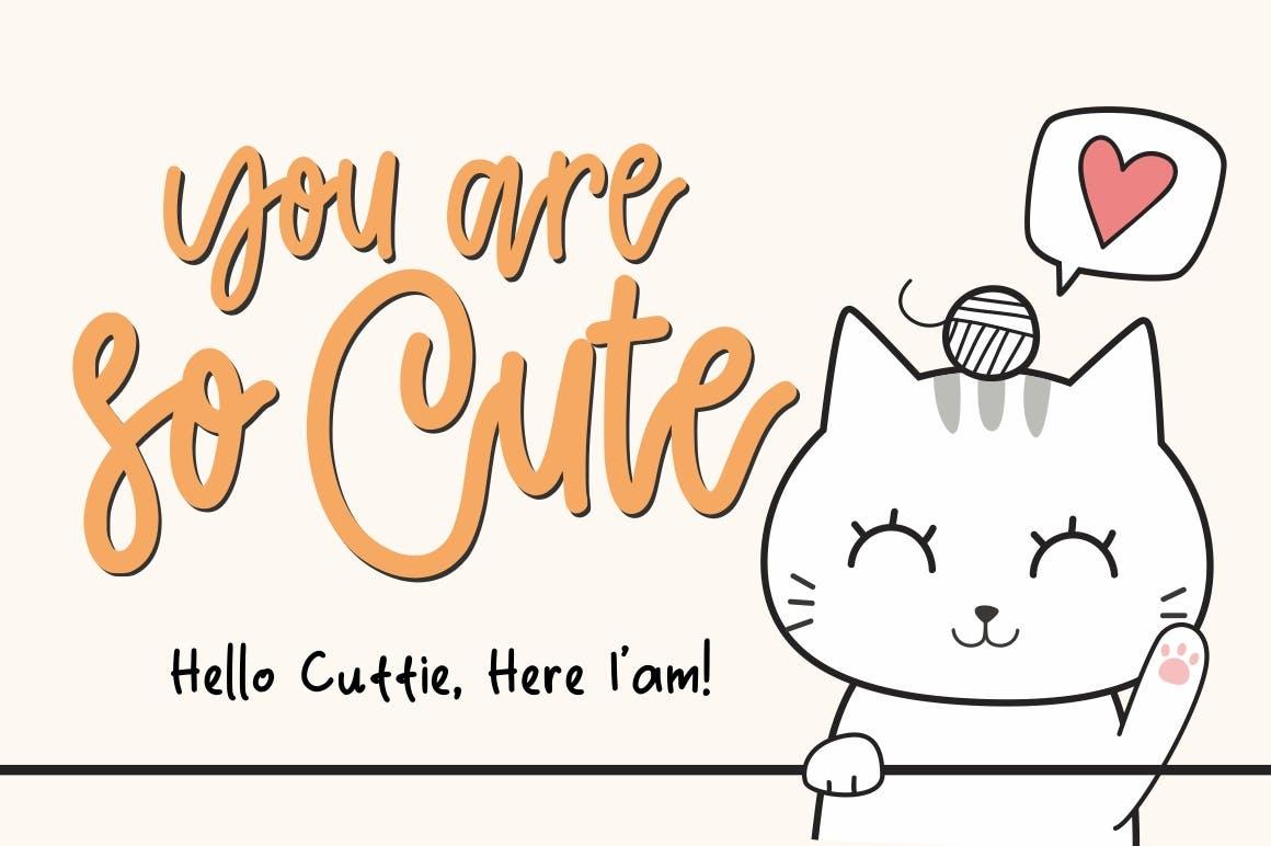 Cattie-Cute-Font-2