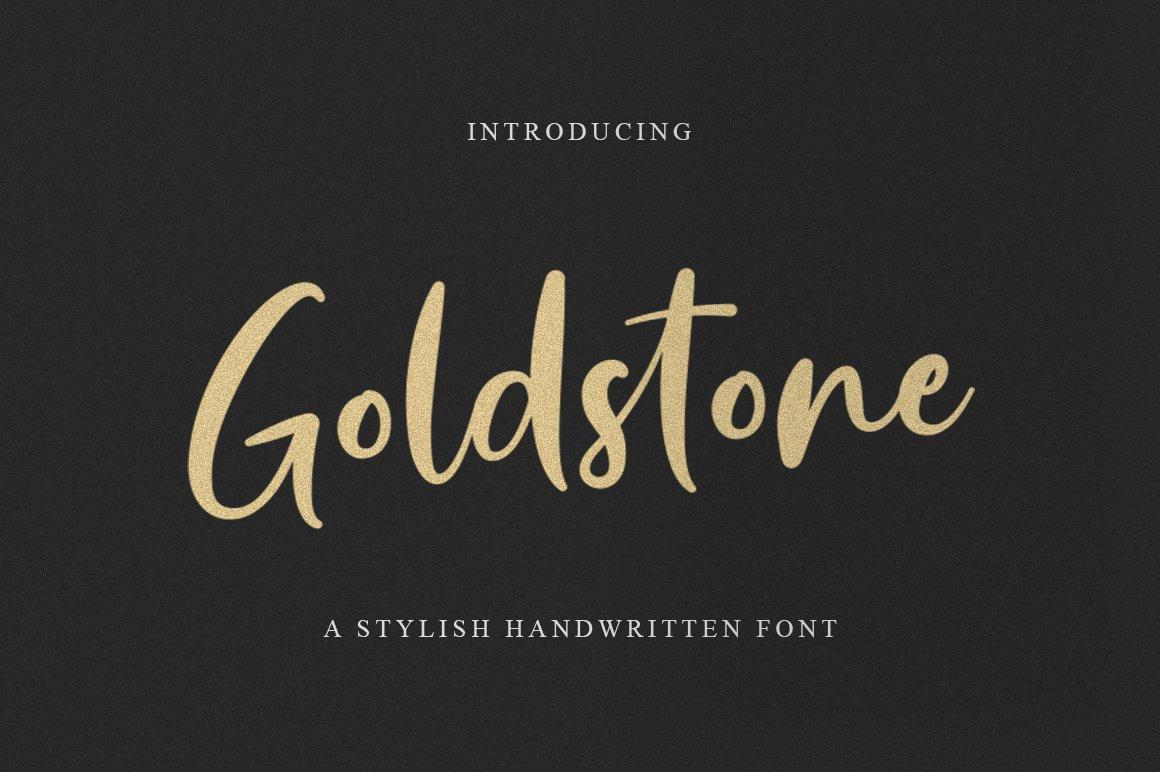 Goldstone-Font