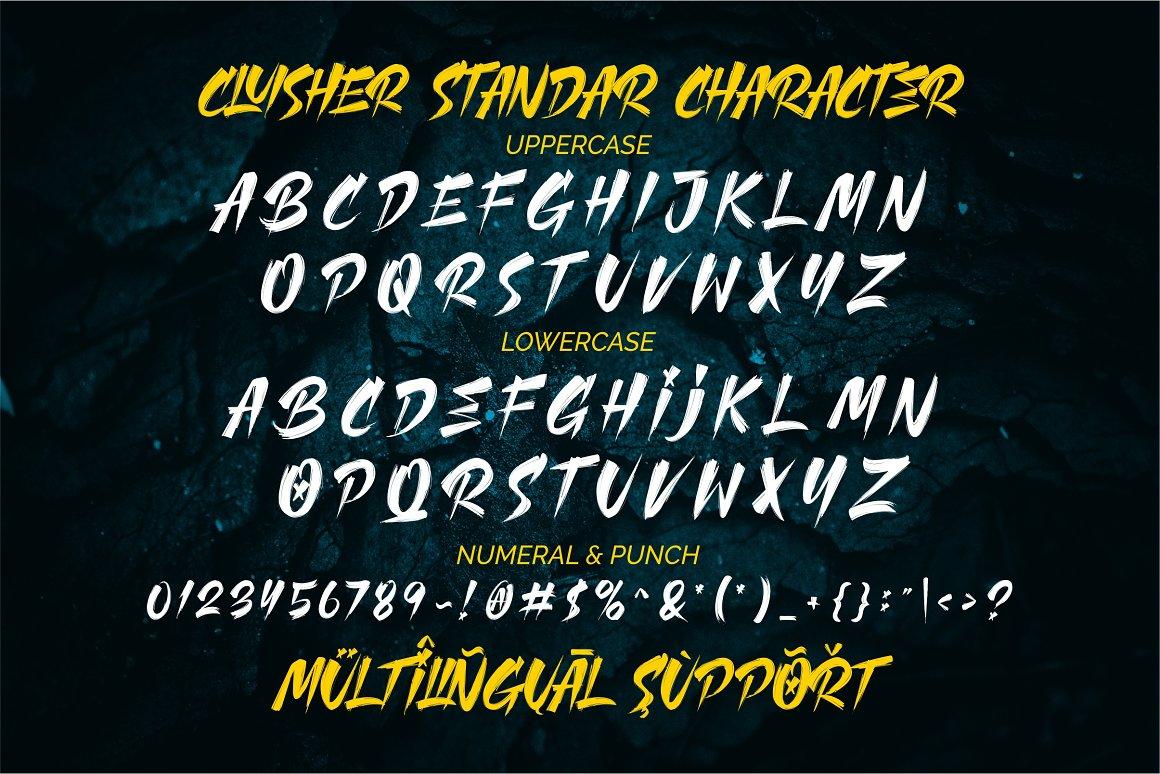 Cluisher-Brush-Font-3