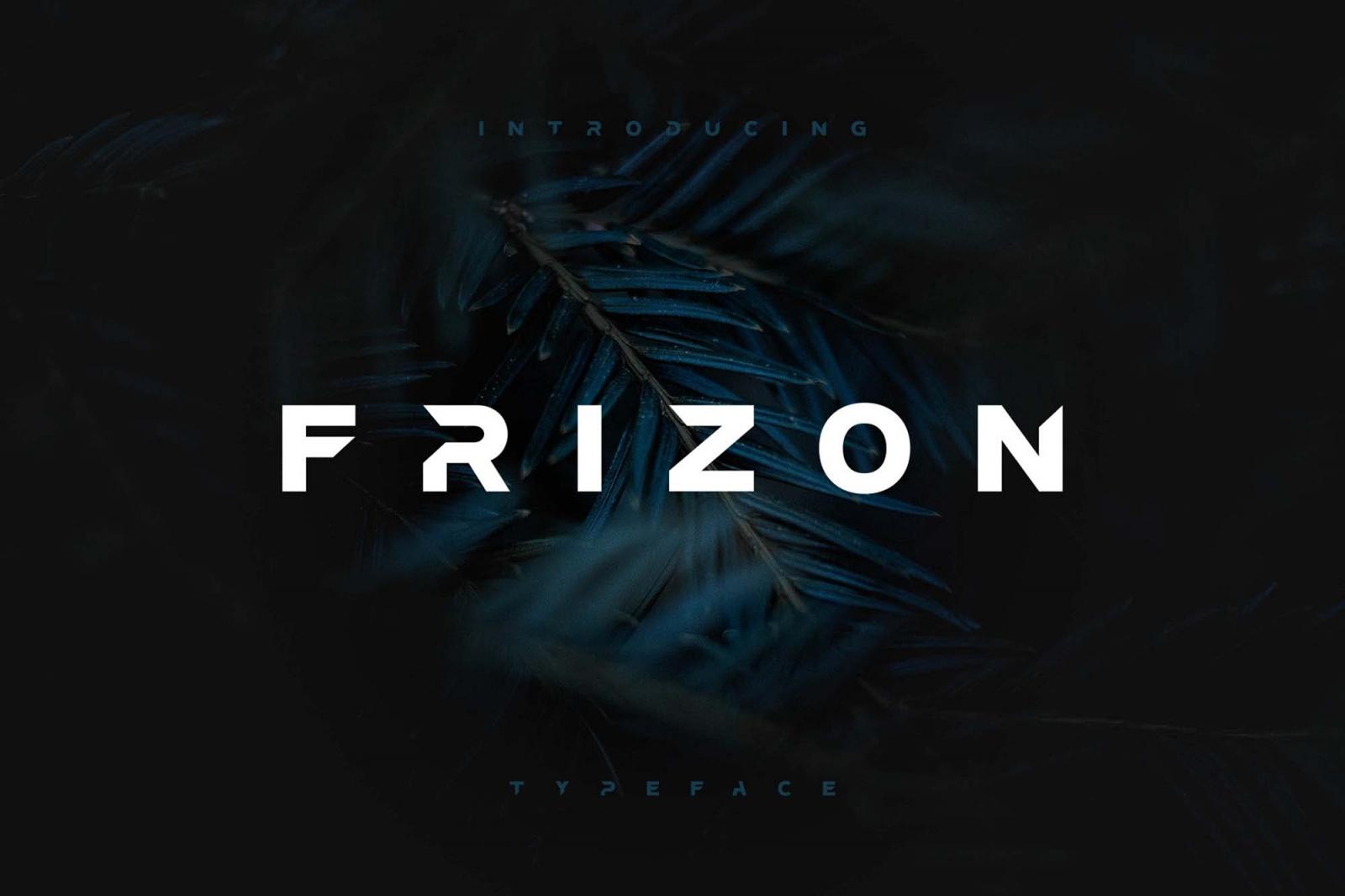 Frizon-Font