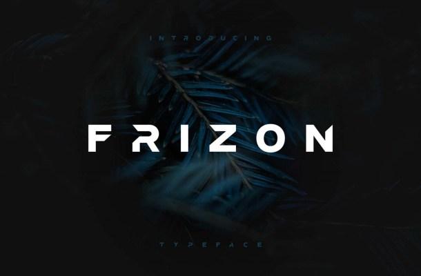 Frizon Free Font