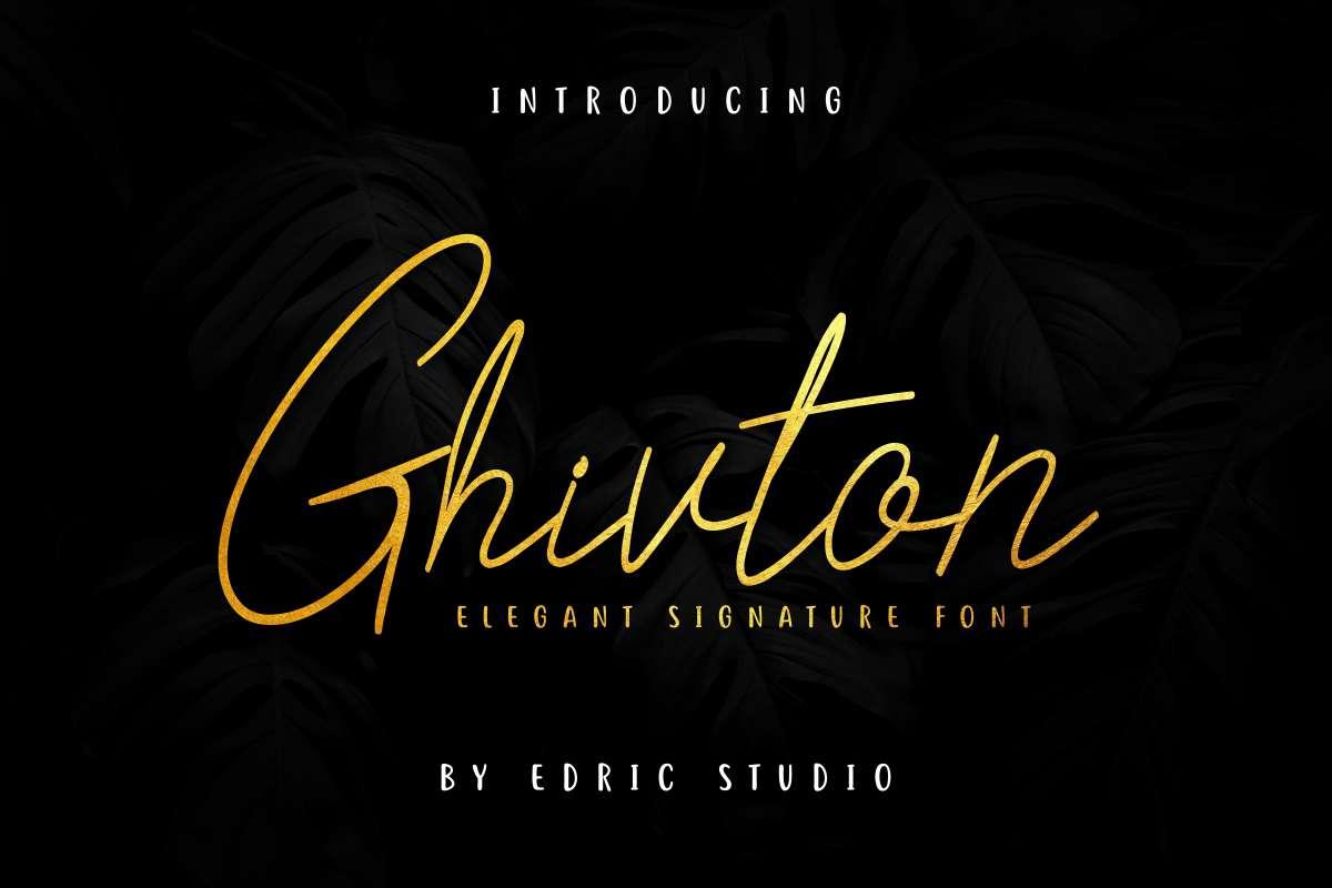 Ghivton-Font