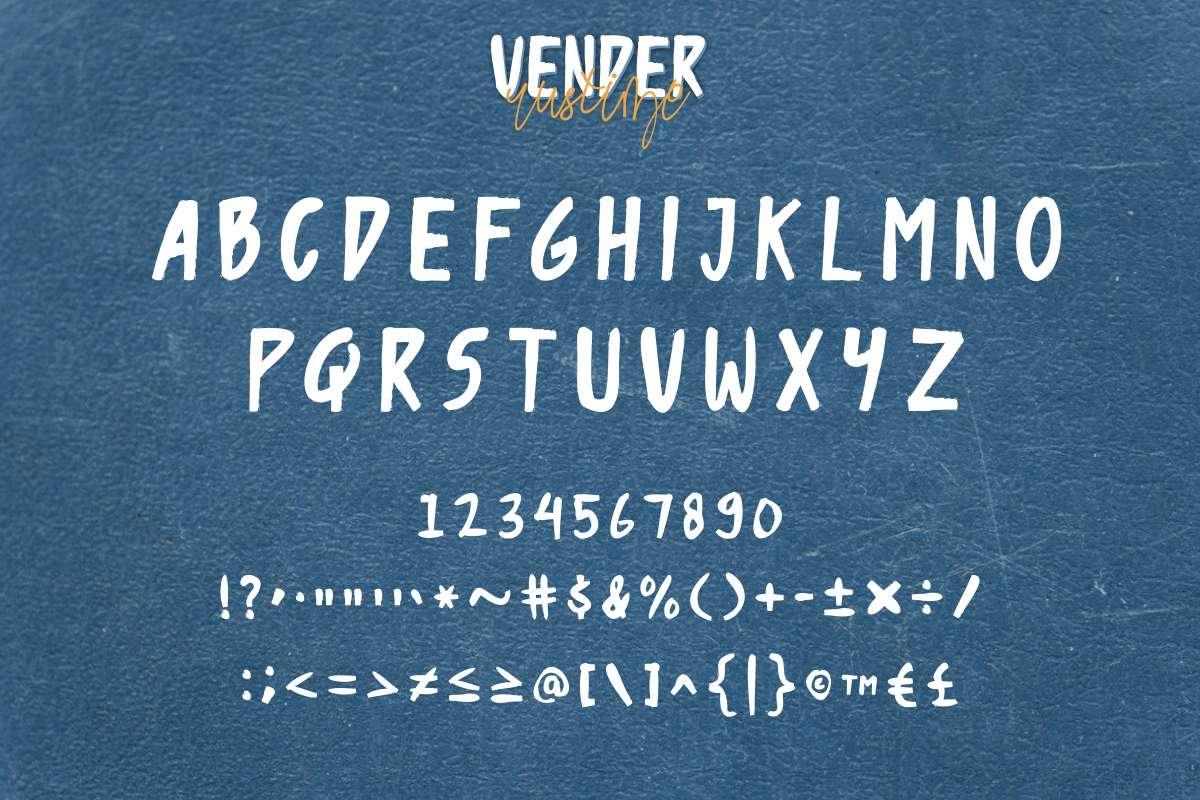 Vender-Rustime-Font-2