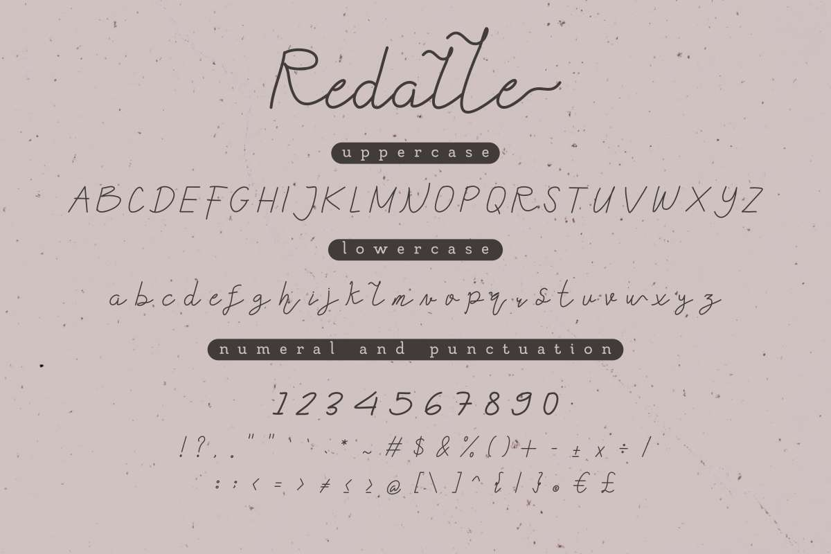 Redalle-Handlettered-Font-2
