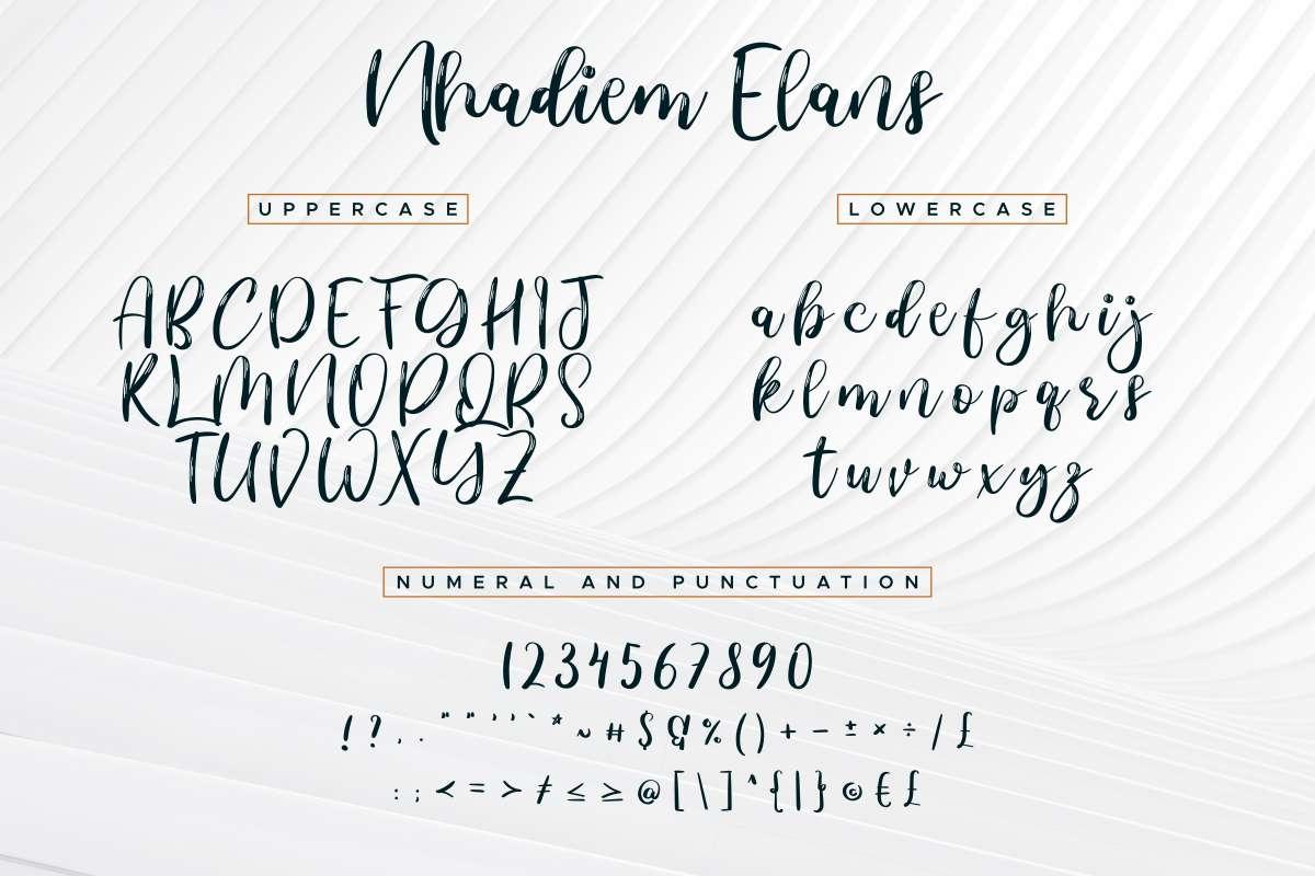 Nhadiem-Elans-Font-3